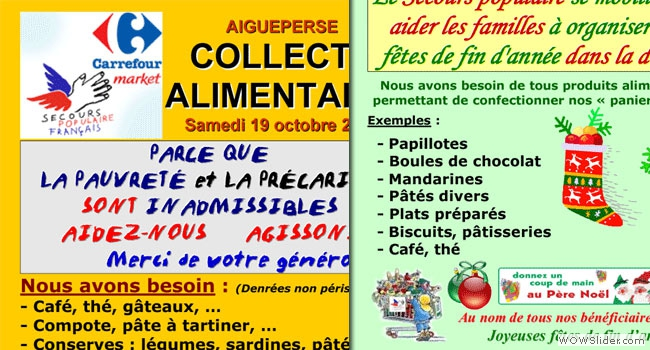 Collectes alimentaires